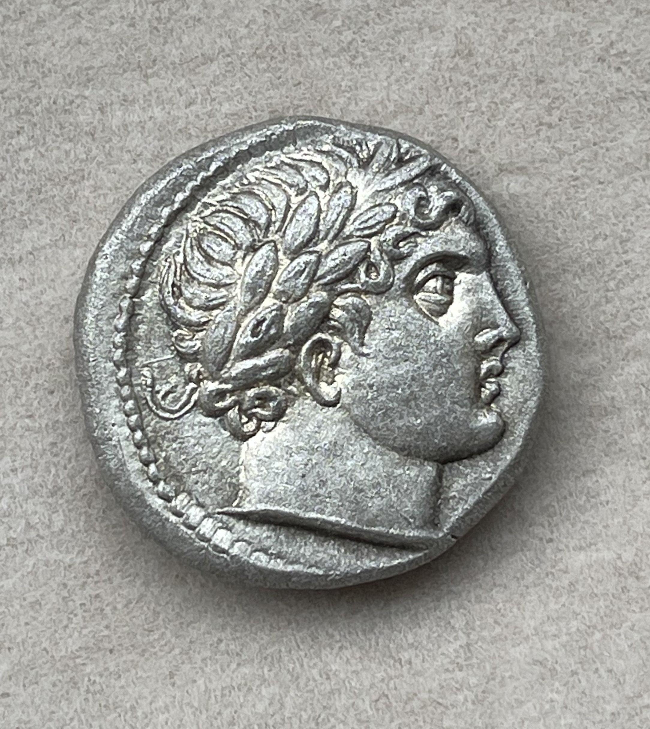 PATRAOS KING OF PAEONIA (340 – 315 B.C.)