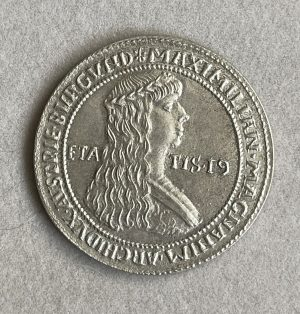 MAXIMILIAN, MAGNANIM, ARCHIDVX, AVSTIE, BVRGVND (1479) - Ancient Replicas - ancientreplicas.co.uk