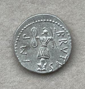 BRVTVS, MARCVS JVNIVS (85 - 42 B.C.) - Ancient Replicas - ancientreplicas.co.uk