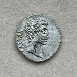 AVGVSTVS, GAIVS OCTAVIVS CAEPIAS THVRINVS (27 – 14 A.D.) - Ancient Replicas - ancientreplicas.co.uk