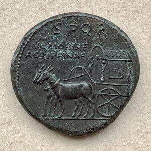 AGRIPPINA SENIOR, JVLIA VIPSANIA (15 B.C. – 33 A.D.) - Ancient Replicas - ancientreplicas.co.uk