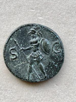 BRITANNICVS, TIBERIVS CLAVDIVS (42 – 55 A.D.) - Ancient Replicas - ancientreplicas.co.uk