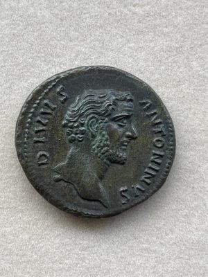 ANTONINVS PIVS, TITVS AVRELIV (138 – 161 A.D.) - Ancient Replicas - ancientreplicas.co.uk