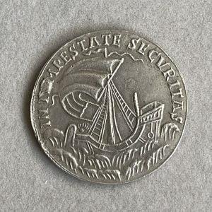 S. GEORGIUS EQUITUM PATRONUS TEMPESTATE SECURITAS HUNGARY, KREMNITZ (1645 – 1690) - Ancient Replicas - ancientreplicas.co.uk